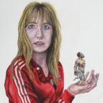 Marthe Zink- 'Self-portrait with Prometheus', 2019