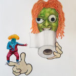 Marthe Zink- 'The toilet paper thief', 2020
